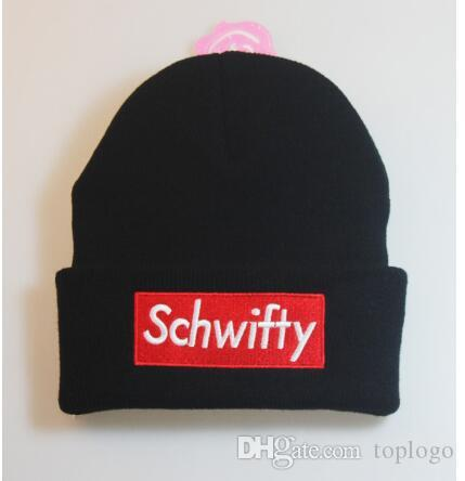 832960bc7 Schwifty Winter Knitted Hats Rick and Morty Schwifty Classical Language  Warm Skullies Beanie Embroidery Skiing Knit Hats