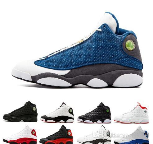 7a7b83d0784 2019 Mens Basketball Shoes 13 13s GS Hyper Royal Italy Blue Chicago ...