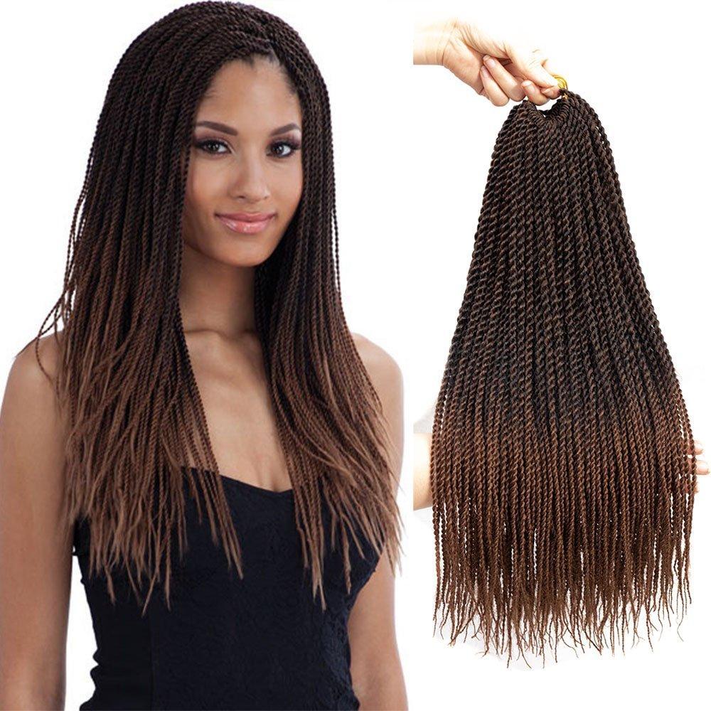 2019 Senegalese Twist Crochet Hair Braids Small Havana Mambo Twist