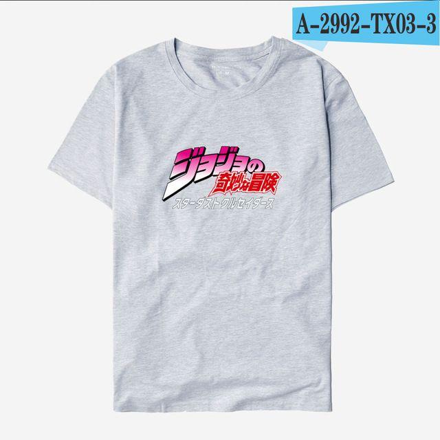 Compre 2019 Hombres S Diseñador De Ropa Camiseta BTS JoJo Bizarro Aventura  Camisetas Divertidas Hombres Japón Anime Impreso Moda T Shirt Estilo Casual  ... 9e42fcee63723