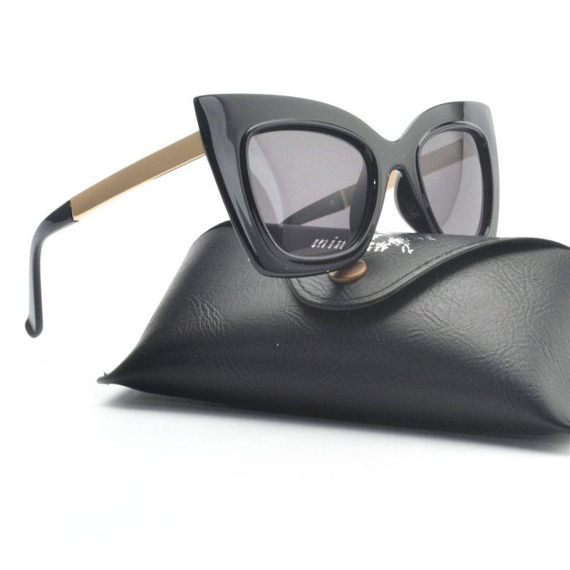 273495fe05b5 Luxury Cat Sunglasses Women Translucent Butterfly Frame Sun Glasses Men  Brand Designer Vintage Female Square Shades UV400 NX Sport Sunglasses  Prescription ...