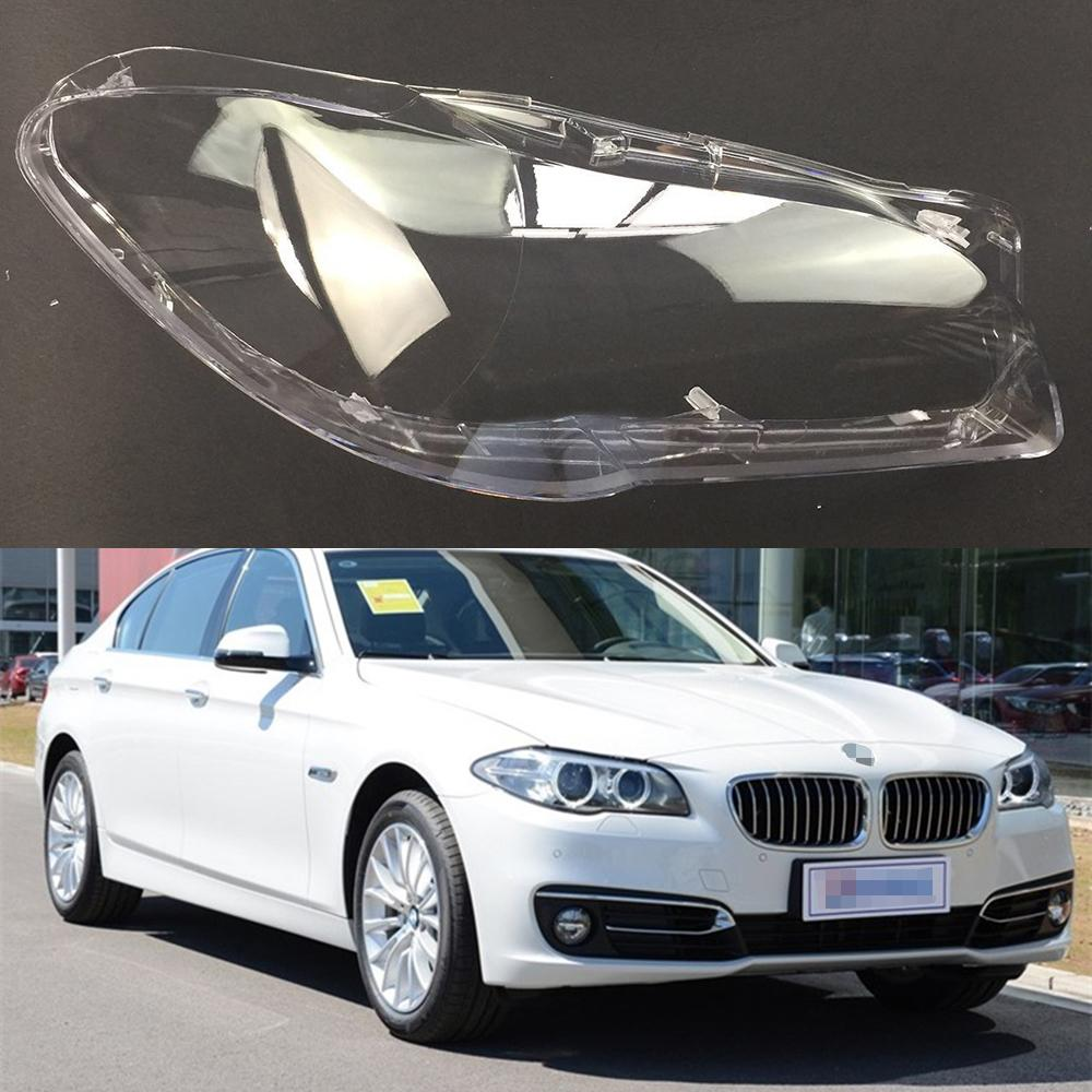 For Bmw 5 Series F18 F10 520i 523i 525i 535i 530i 2011 2017 Car Headlight Headlamp Clear Lens Auto Shell Cover