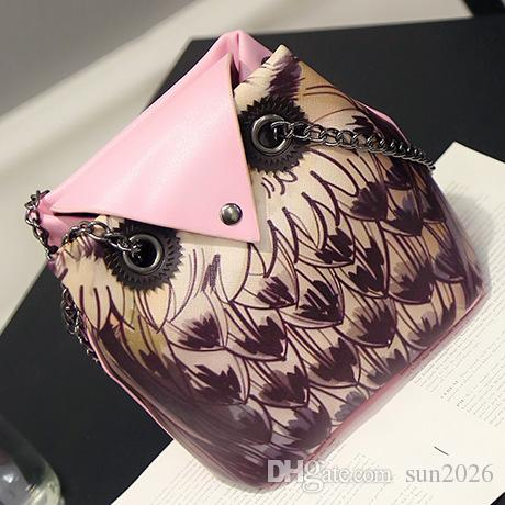 2018 New Simple style Women owl handbags national style fashion tourist attractions ladies shoulder bags high quality bags wholesale