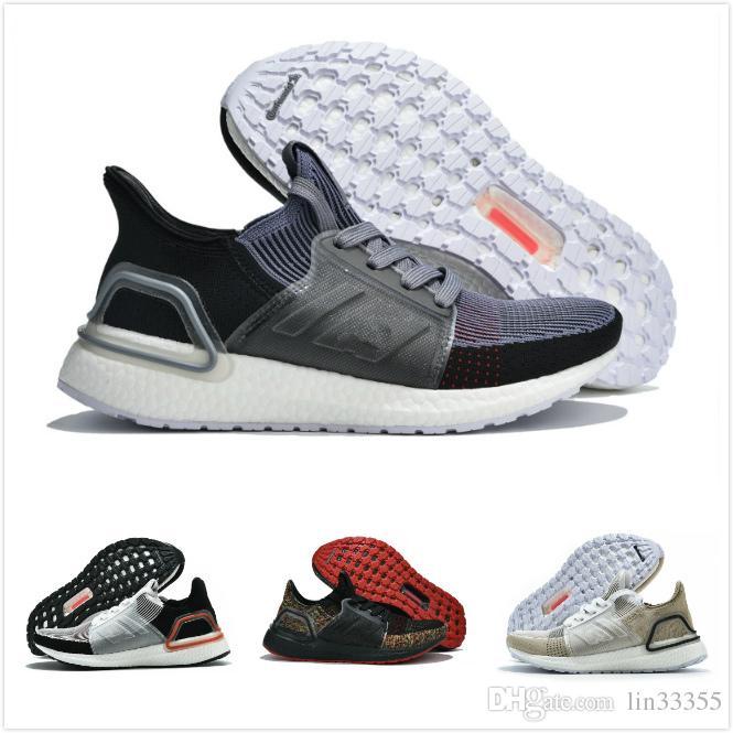 b6003220d Ultra Boost 19 Men Women Running Shoes Ultraboost Laser Red Dark ...