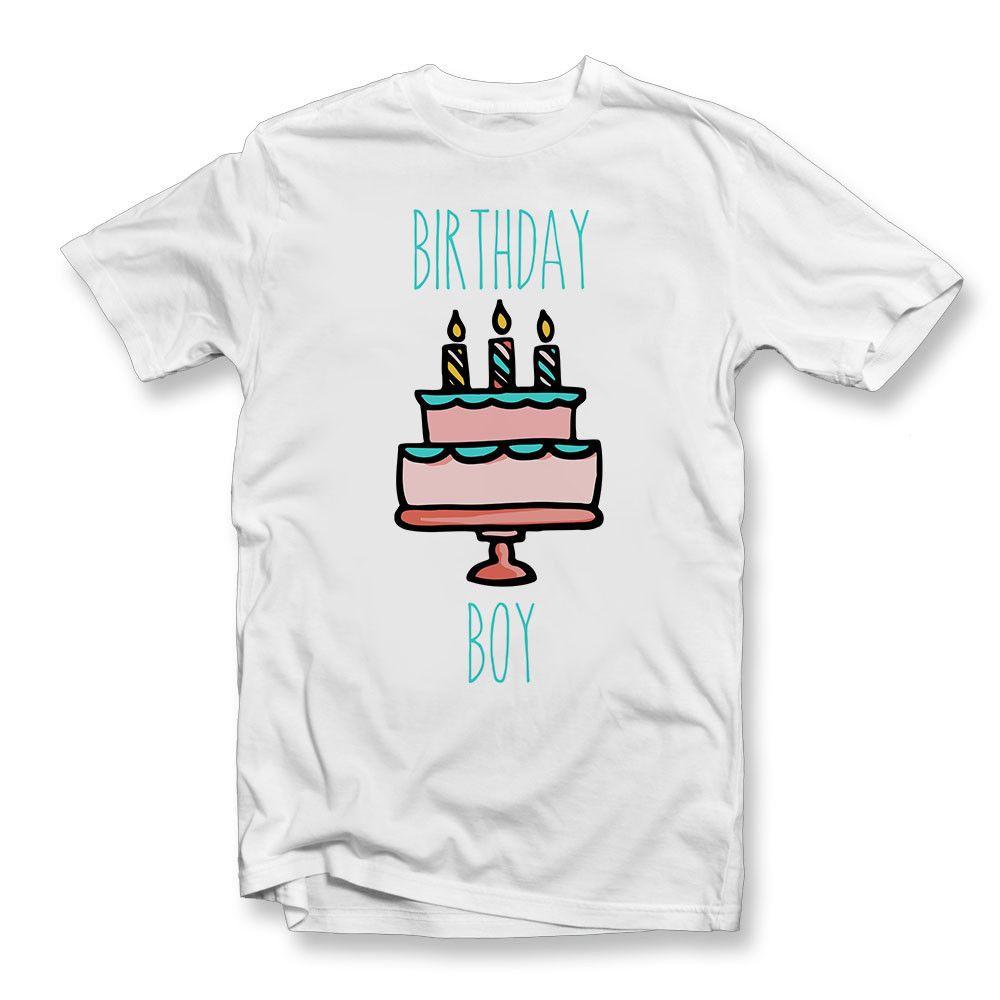 Grosshandel Erwachsen Geburtstags Junge T Shirt