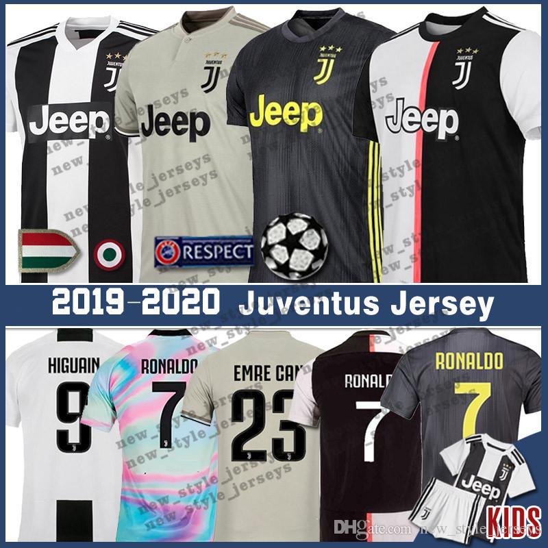 buy popular 9493a 21d6b Thailand 7 Ronaldo Juventus jersey Men kids 9 Higuain 10 Dybala 19 20  uniforms 33 Bernardeschi Soccer Jerseys Cristiano Ronaldo