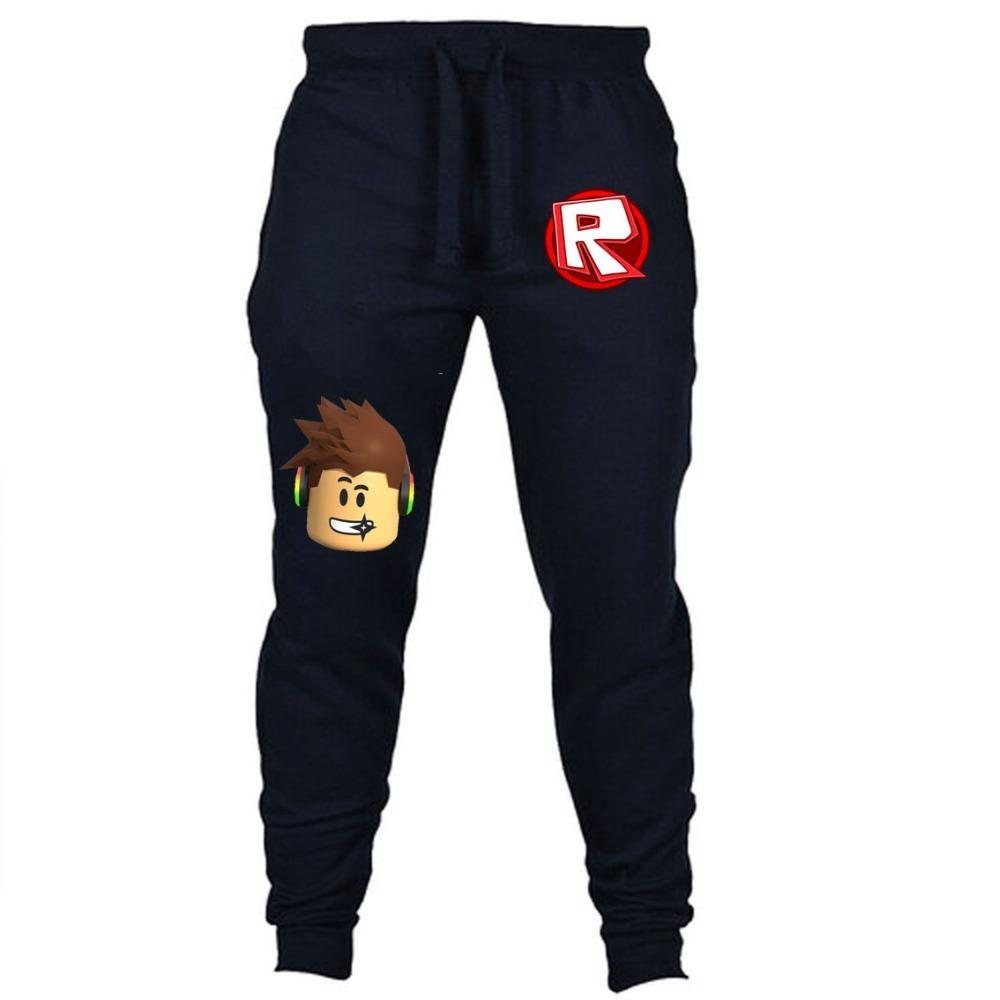 72658d5237ec 2019 Hot Game ROBLOX Pants Cosplay Pants Jogging Casual Long Sport Men  Women Sweatpants Fitness Track From Ziron