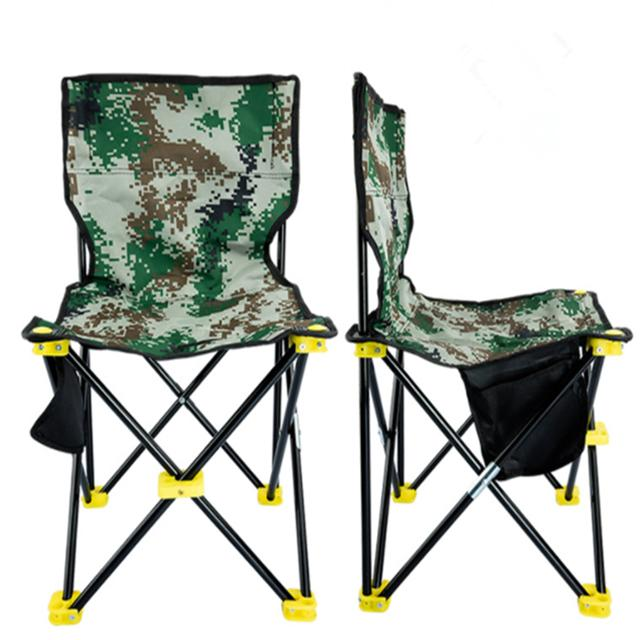 Wholesale Portable Camouflage Outdoor Camping Picnic Fishing Garden Chair Foldable Chair Set Fcc001
