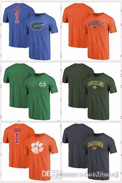 4b51d00dcba 2019 Fanatics Branded Colorado State Rams Clemson Tigers Cal Bears  Heathered Florida Gators Royal Greatest Dad T Shirt From Hoodiesno2, $16.95    DHgate.Com