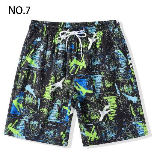 Men Summer Casual Shorts 2019 New Quick-drying Casual Shorts Mens Printing Tide Sports Shorts Men's Beach Pants Plus Size M-4XL 9 Style