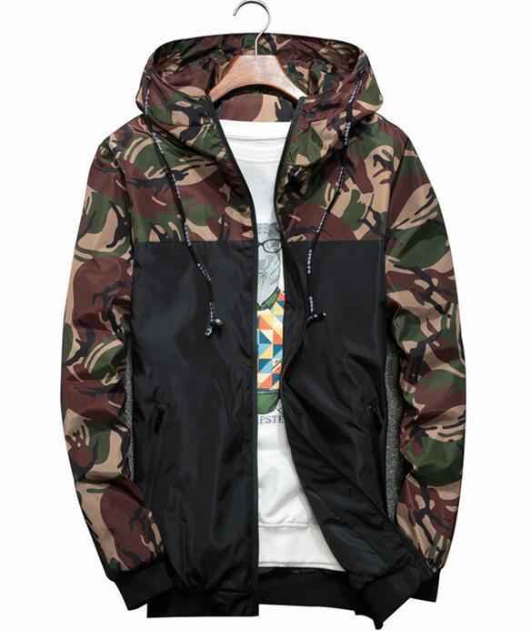 Acquista Giacca Yizlo CAMO Giacca A Vento Uomo Donna Zipper Giacche Hip Hop  Streetwear Casual Cappotto Con Cappuccio A  25.03 Dal Michalle  1fb8e597185