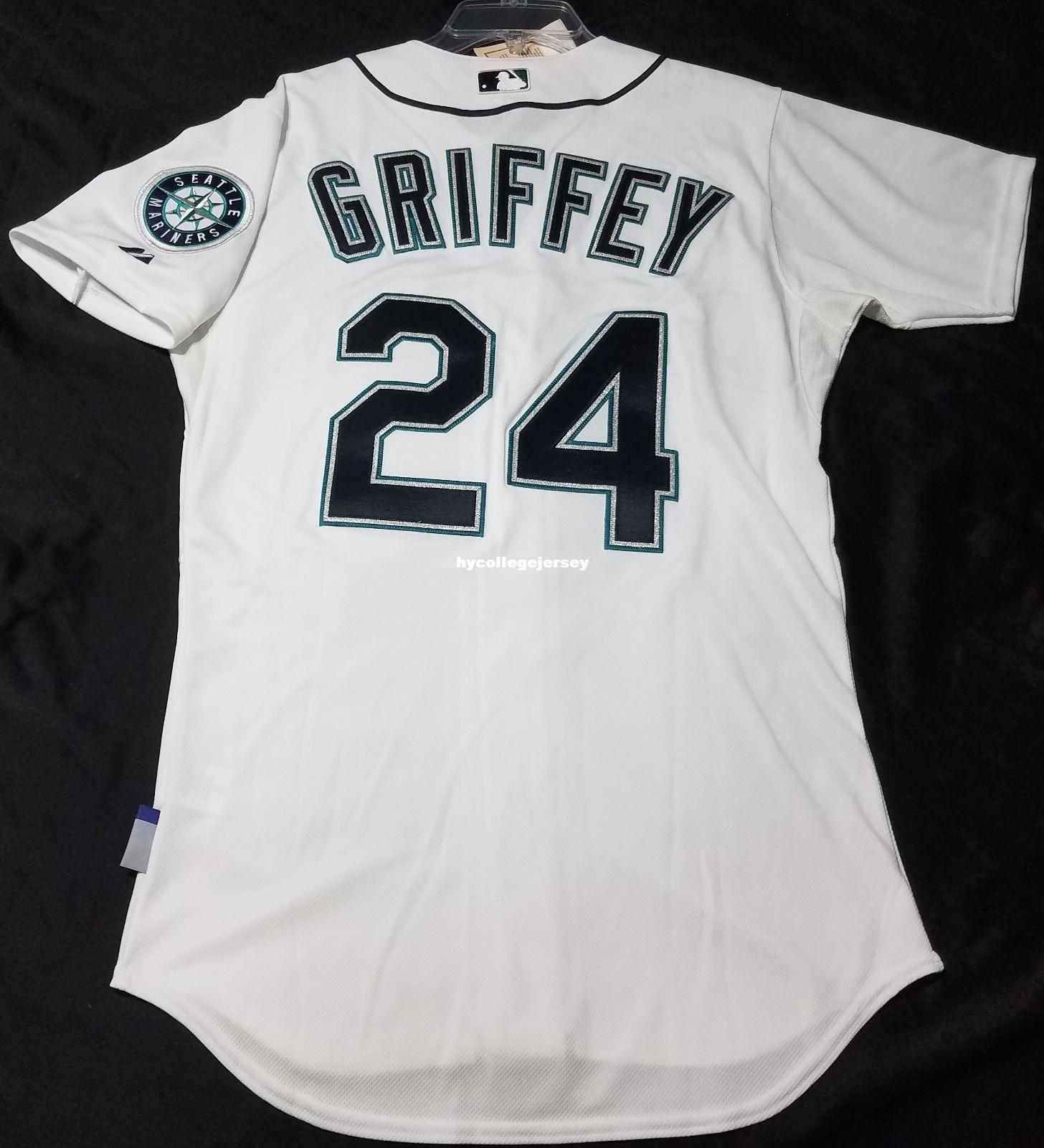 e5823e5a9 2019 Cheap MAJESTIC SEATTLE 24  Ken Griffey Jr COOL BASE Jersey Mens  Stitched SHARP! Wholesale Big And Tall SIZE XS 6XL Baseball Jerseys From ...