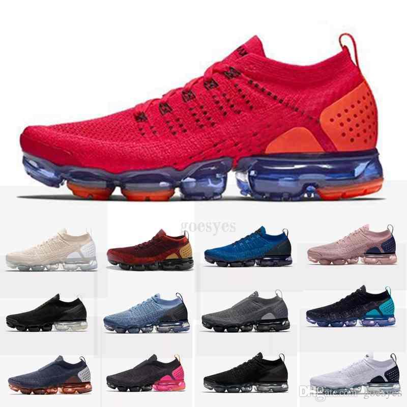 wholesale dealer 68d0a bf408 Nuevo 2019 AIR Moc 2.0 SEA VERDADERO Diseñador Hombre Mujer Zapatillas De  Running Para La Calidad Real Moda Hombre Casual Maxes Sports Chaussures Por  ...