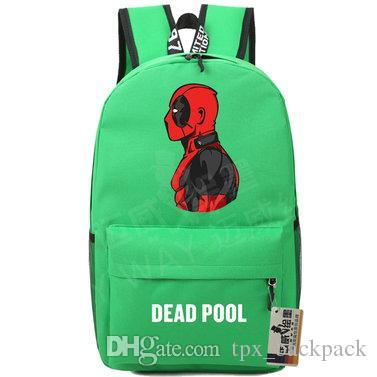 0826e83856b3 Deadpool Backpack Dead Pool Day Pack Super Hero School Bag Cool Packsack  Print Rucksack Sport Schoolbag Outdoor Daypack Rolling Backpacks Backpacks  For Men ...