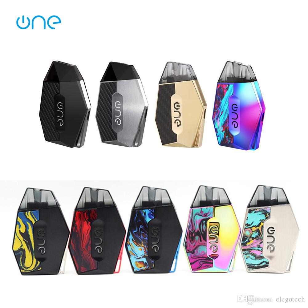 OneVape Lambo Pod System Kit Built-in 360mAh Battery and 2ml Refilling Pod  Cartridge with LED Display Electronic Cigarette Portable Pod Kits
