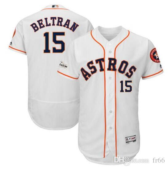 Custom Women s Houston Astros Josh Reddick Majestic White 2018 ... 62926f205