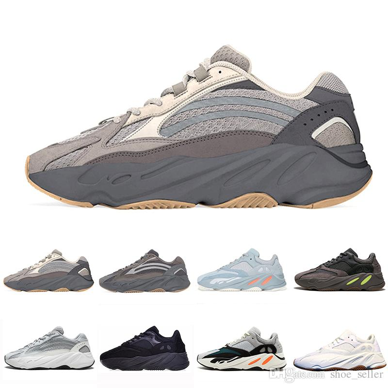 7c243500ca444 2019 Cement 700 V2 Geode Cement Inertia Static Kanye West Wave Runner  Running Shoes For Mens Womens 700s Mauve Sports Sneakers 36 46 Running  Shoes Mens ...