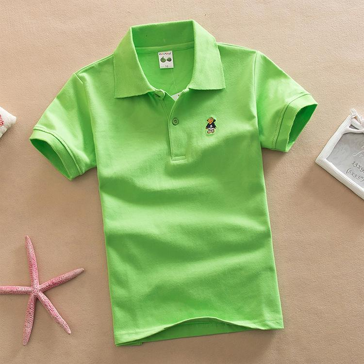 f4fd6b806 2019 Biquality Baby Boys&Girls Summer Clothes Casual Style Cotton Polo  Shirts Kid Boys Solid Short Sleeves Shirts Girls Clothing From Nextbest04,  ...