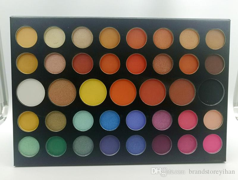 Dropshipping New J Charle New cosmetic Eyeshadow Palettes 39 Colors matte shimmer Eye shadow Natural Long-lasting Makeup beauty palette