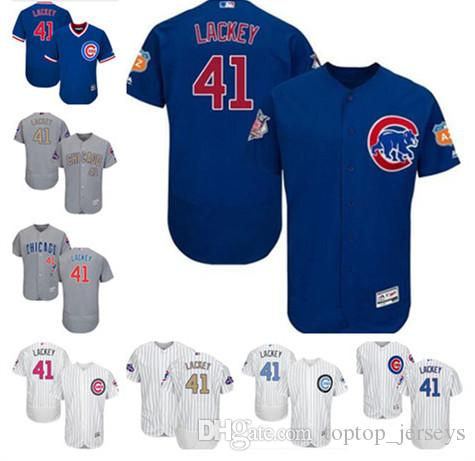 d734416feb8 2019 Chicago Custom Men's Women Youth Majestic Cubs Jersey #41 John ...