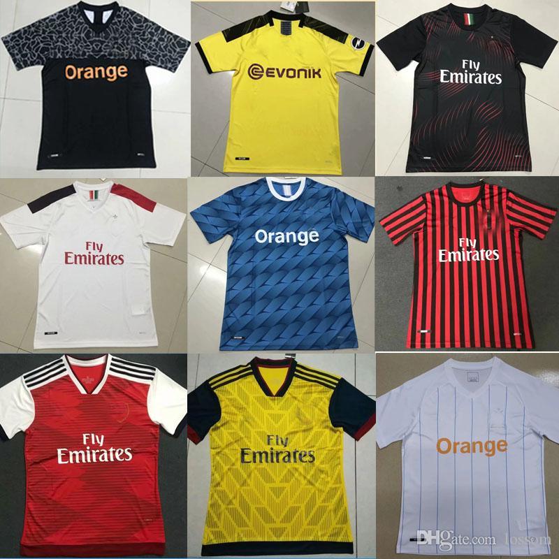 new 19-20 season soccer jersey thailand quality short sleeve football shirt  19 20 club football jersey custom sports shirts de footbol