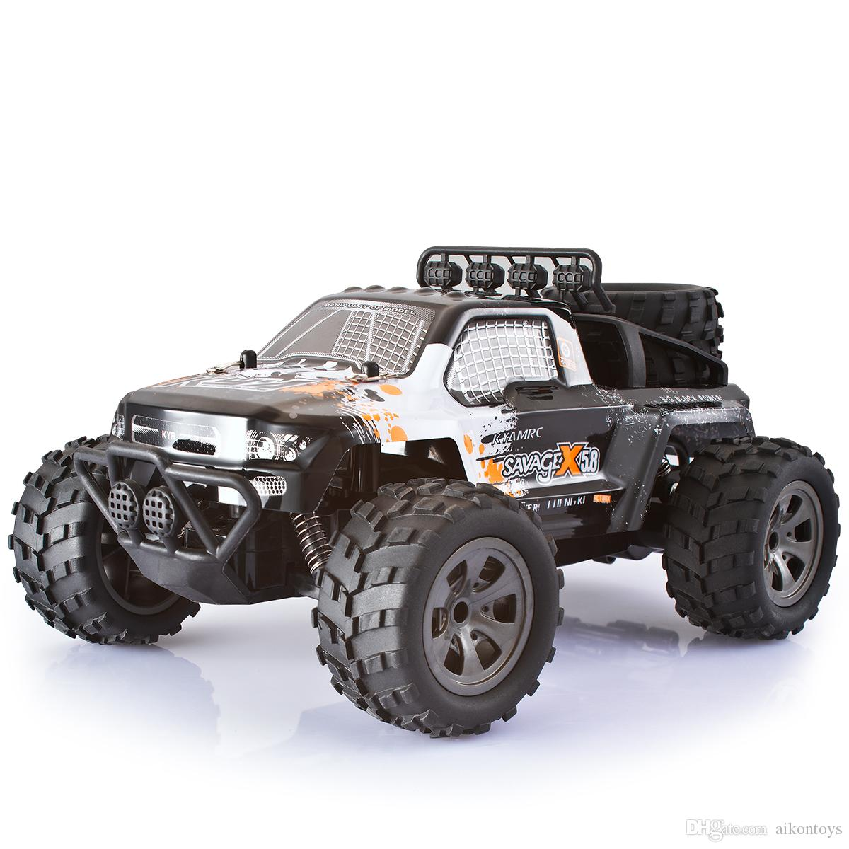 Monster Truck Rc Cars >> 1 18 Scale Electric Rc Car Off Road High Speed 2 4ghz Radio Control Monster Truck Rock Off Road Vehicle Buggy Hobby