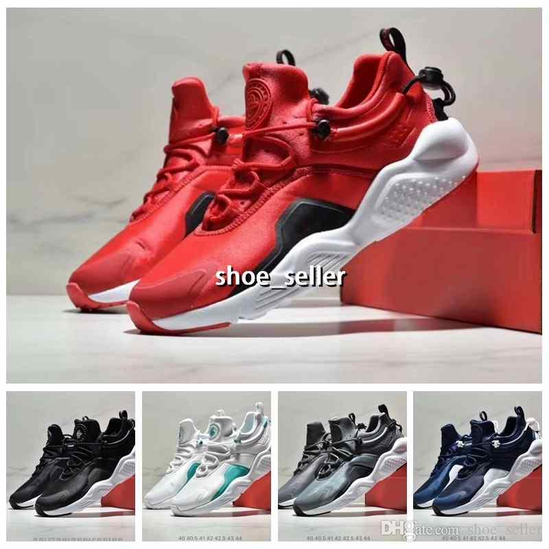 5c15b5882304 2019 New Air Huarache 8 IV Ultra Running Shoes For Men Women White Red  Huraches Huaraches Mens Trainers Hurache Sports Sneakers Size 5 11 Tennis  Shoes ...