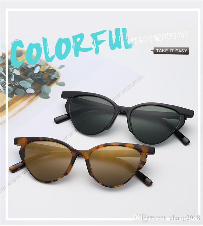 cf111dd475582 15 Style 2019 Cat Eye Sunglasses Women Retro Brand Designer Sunglass Half  Frame Female Eyewear Vintage Ladies Sun Glasses UV400 Bldz002 Vuarnet  Sunglasses ...