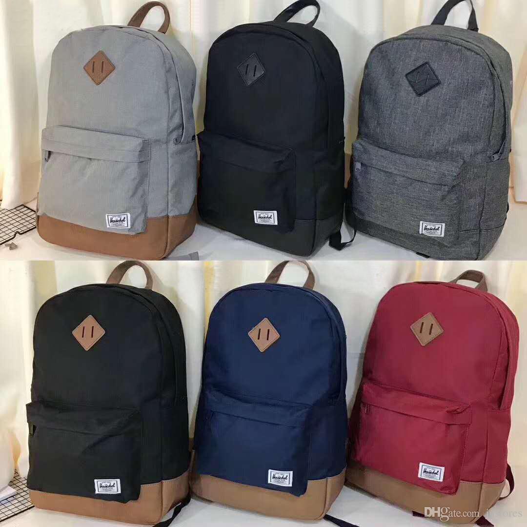 96403b258713 2019 Fashion Designer Bag Herschel Supply Heritage Backpack Unisex ...