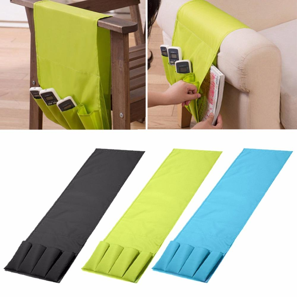 2019 Multifunctional 4 Pocket Remote Control Holder Organizer