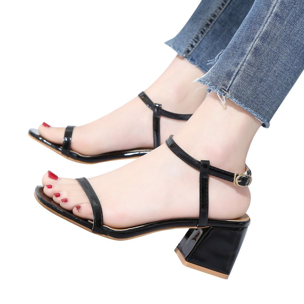 7612a8f1c Купить Оптом Дизайнерские Туфли Лодочки Youyedian Pumps Женщины Большой  Модный Сплошной Цвет Квадратный Носок Квадратный Каблук Рим На Высоких  Каблуках ...