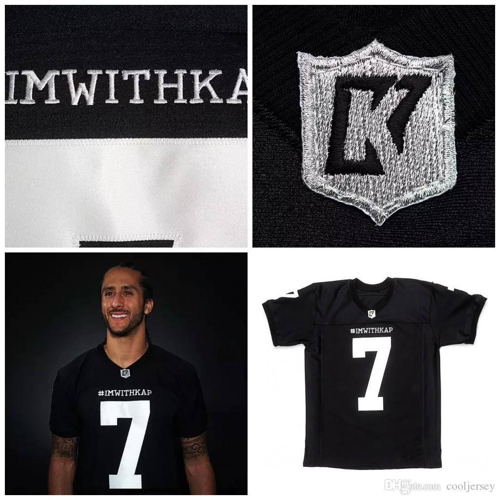 8753dc81920 2019 Custom IMWITHKAP Jersey 7 COLIN KAEPERNICK IM WITH KAP Stitched Top  Quality From Cooljersey, $26.4 | DHgate.Com