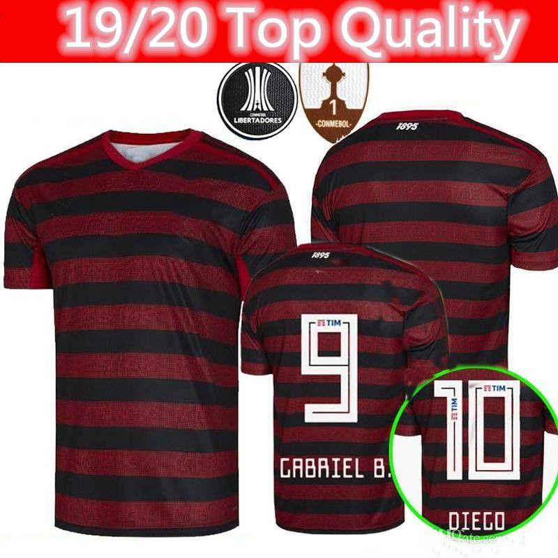 wholesale dealer a89bd cef3d flamengo jersey camisa flamengo soccer jersey GUERRERO DIEGO VINICIUS JR  Jersey 19 20 Thailand top quality 2019 soccer uniform tracksuit