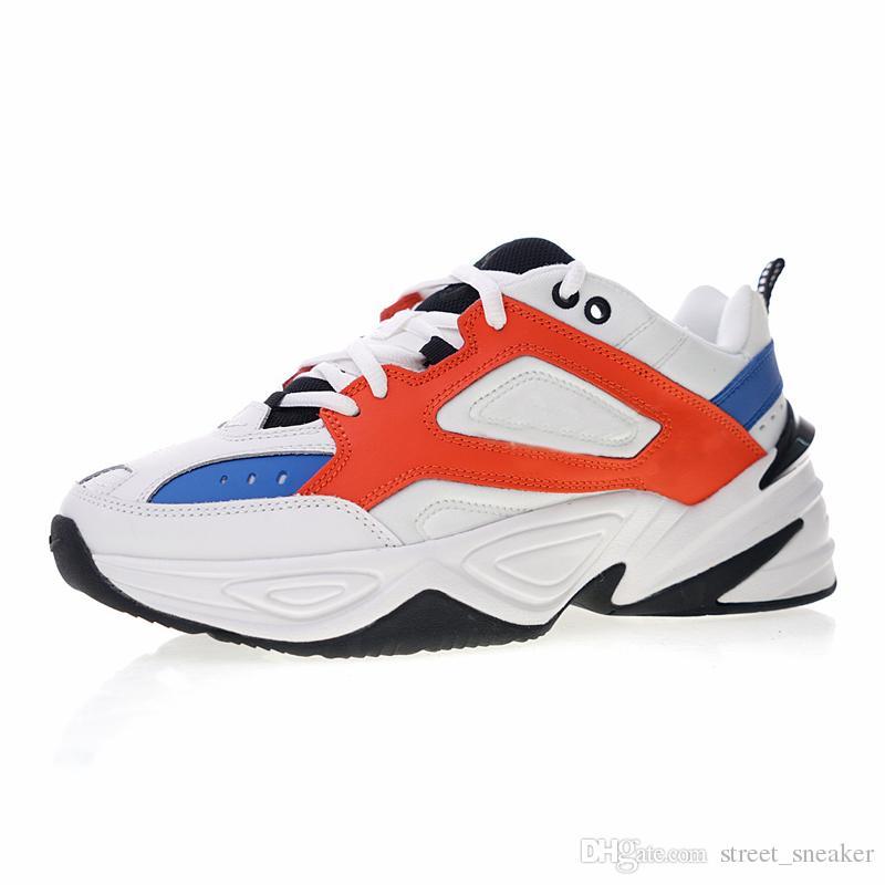 on sale 8d1b9 1212a Scarpe Running Uomo Nike M2K Tekno 2018 NOVITÀ Air Monarch The M2K Tekno  Dad Sport Scarpe Da Corsa Off Top Quality Donna Mens Designer Zapatillas  Bianco ...