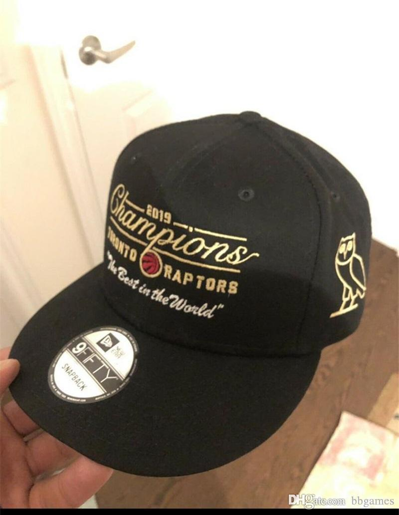 3c5925a95 2019 Champions Finals snapback hat The best in the world Raptors hats  Toronto Black Basketball cap Summer Stitched Caps K450