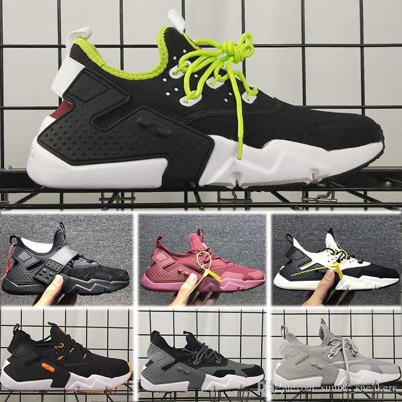 0cb4104459 Compre Nike Air Max Huarache 3.0 4.0 5.0 6.0 2018 Novo Padrão Huarache 6  Seis Homens Mulheres Huarache VI Sapatos Huaraches Tênis Esportivos Tênis  De ...