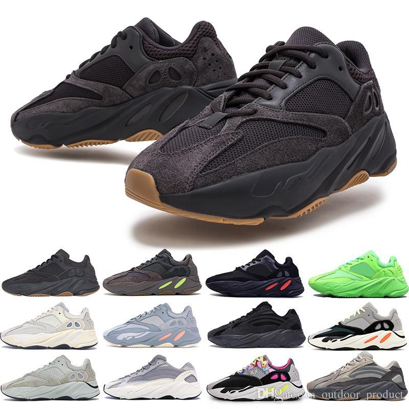 cheap for discount 9190a ef8e9 Adidas yeezy boost 700 Gucci Vanta Wave Runner chaussures de course pour  hommes femmes Static 3M réfléchissant Mauve Multi Solid Grey hommes ...