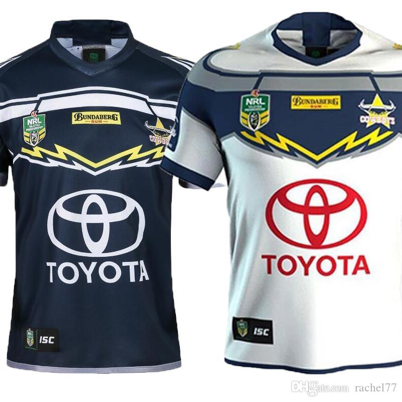 2019 AAA+ North Queensland Cowboys Rugby Jerseys 2018 Home Away Jersey NRL  National Rugby League Nrl Jersey Australia Shirt S 3xl From Rachel77 bf364fd4c