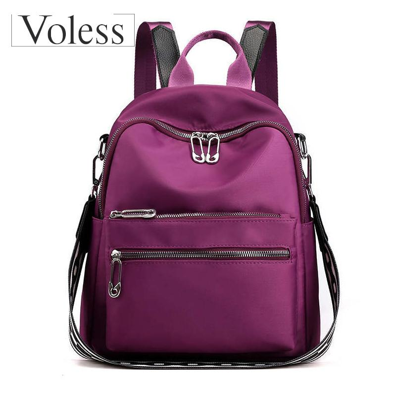 New Bags for Women 2019 Women Preppy School Bags for Teenagers Female Nylon Travel Bag Girls Backpack Mochilas Bolsa Feminina