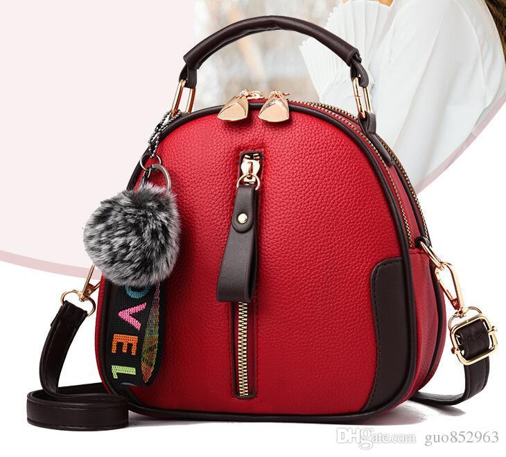 Female Bag 2019 New On The New Korean Version Of The Wild Personality Fashion  Mini Ladies Bag Messenger Bag Girl Tide Designer Backpacks College Backpacks  ... 305e383a7ca47
