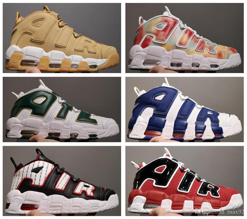 0600d5eac02 2017 Air More Uptempo Women Mens Basketball Shoes