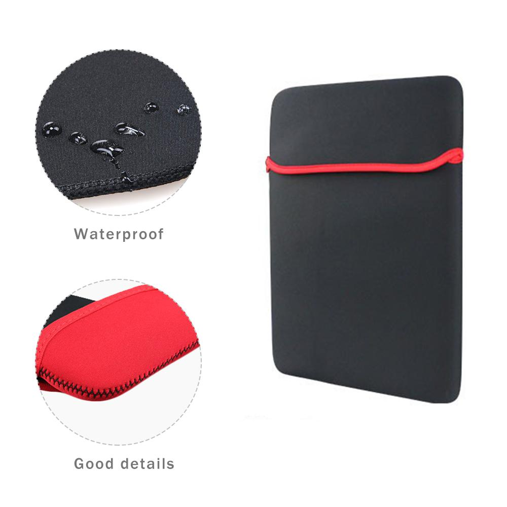 "SZAICHGSI Universal Black Pouch Sleeve Soft Laptop Bag for Tablet 7"" 8"" 9"" 9.7"" 10"" 12"" 13"" 14"" inch Mouse Pad Style"