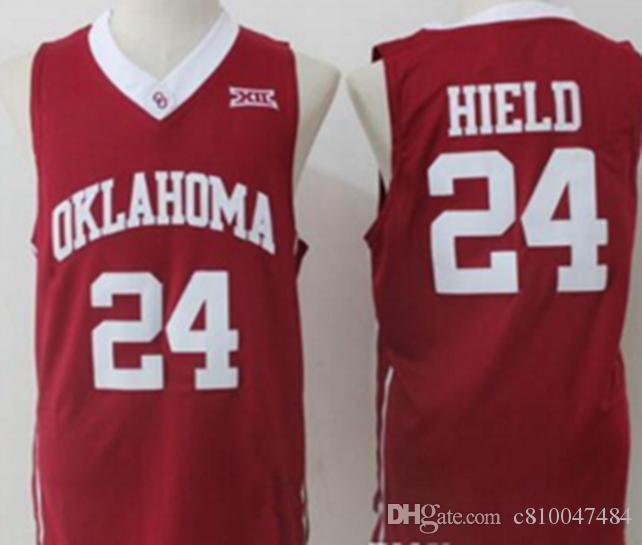the best attitude f5657 fb292 NCAA Oklahoma Sooners College Trae Young Jerseys Stitched Red White Best  Quality Buddy Hield University Basketball Jerseys
