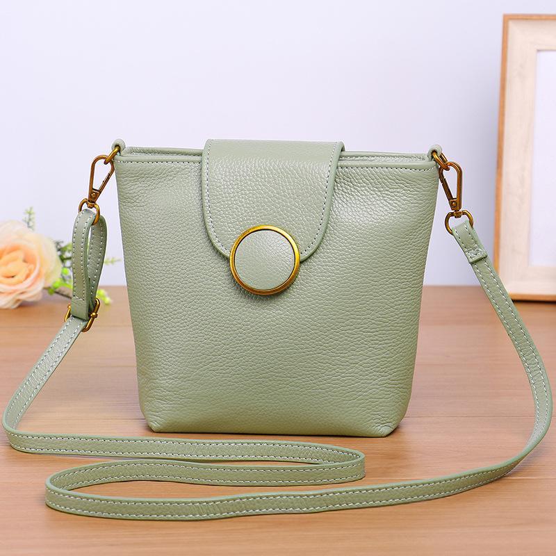 Genuine Leather Fashion Small Crossbody Bags for Women Classic ... f1c0348d524e1