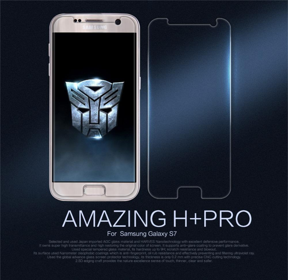 Touch Screen For Samsung Galaxy S7 Screen Protector Nillkin Amazing Hpro  Tempered Glass For Galaxy S7 Screen S7 Tempered Glass J190505