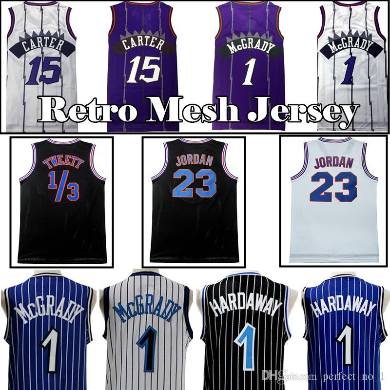 f5a5db83a 2018 Men S Toronto 15 Vince Carter Raptors Basketball Jersey 1 Tracy McGrady  1 Penny Hardaway Retro Mesh Jerseys From Perfect no 1