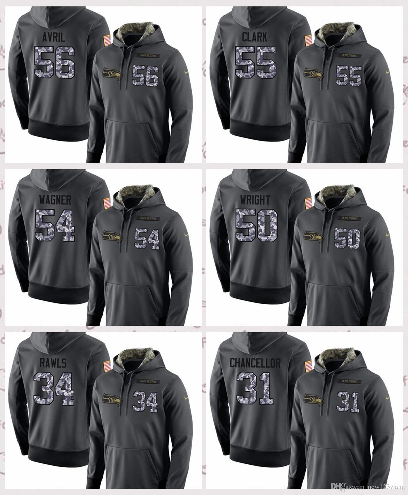 186215031 Compre Seattle Seahawks Masculino   56   55   54   50   34   31 Número Do  Jogador E Nome De Esportes De Lazer Versão Geral Cinza Escuro Cap Sem Forro  ...