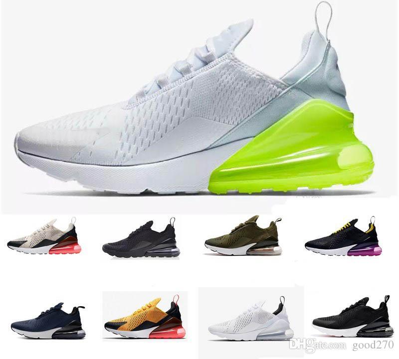 2019 Nike Air Max 270 AIRMAX 270 27c Weltmeister Frankreich zwei 2 Sterne  Sneakers Limited Edition Flair Triple Damen Herren Trainer Outdoor Schuhe  ...