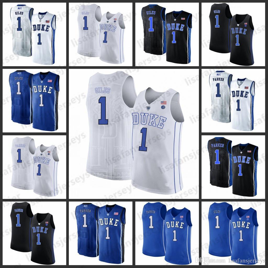 fd3c53d1db50 Duke Blue Devils Basketball Jerseys Mens 1 Harry Giles 1 Jabari ...