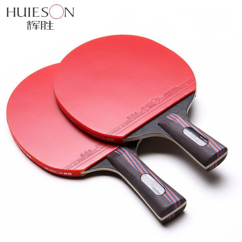 2019 huieson carbon fiber table tennis racket double face pimples in rh dhgate com